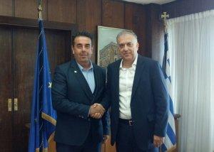 Συνάντηση του Δημάρχου Ναυπλιέων Δημήτρη Κωστούρου με τον Υπουργό Εσωτερικών κ.Θεοδωρικάκο και χρηματοδότηση της αντιπλημμυρικής προστασίας του Ναυπλίου
