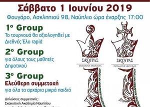 3ο Θερινό Rapid | Σκακιστική Ακαδημία Ναυπλίου