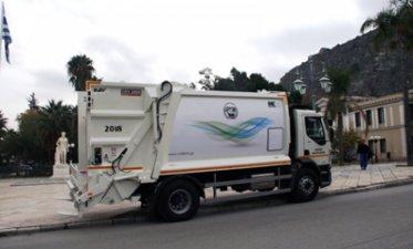 Με 4 νέα υπερσύγχρονα απορριμματοφόρα στην μάχη της καθαριότητας ο Δήμος Ναυπλιέων
